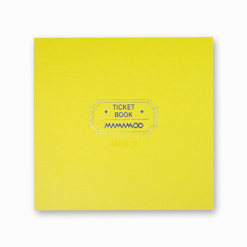 [MAMAMOO] OFFICIAL TICKET BOOK