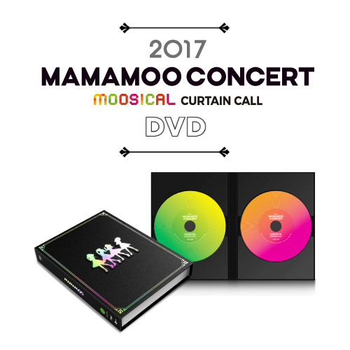[MAMAMOO] MOOSICAL CURTAIN CALL DVD