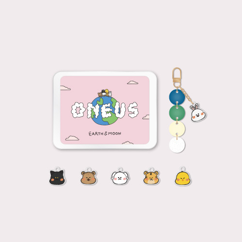 [EARTH & MOON] ACRYLIC KEYRING SET